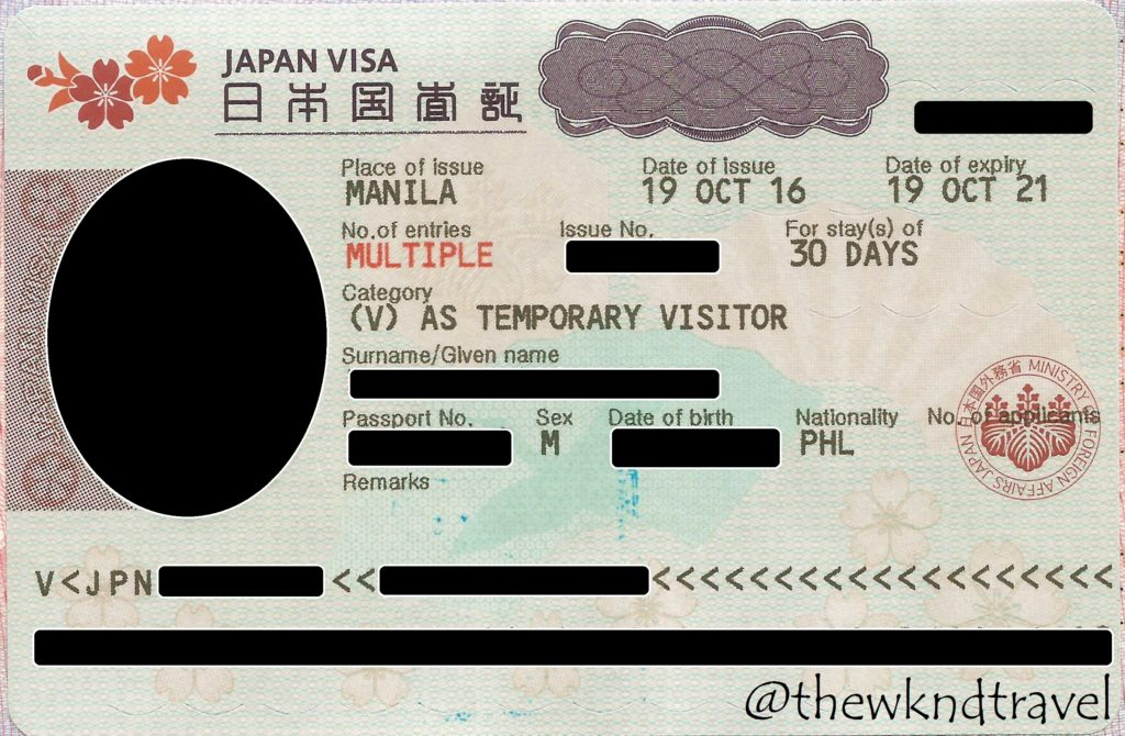 Tuesday Tip 4 Easy Steps On How To Get Your Japan Visa Tips Included The Wknd Travel